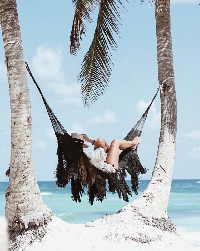 chillin in the hammock  Read More rarr
